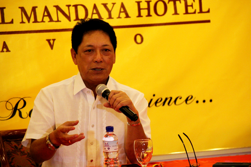 Incoming Labor Secretary Silvestre Bello says the Duterte administration is determined to resolve the issue of contractualization of workers. Bello also met with the business sectors in a consultative forum held at the SMX Convention Center in Lanang, Davao City to discuss the said issue. (Ace R. Morandante/davaotoday.com)