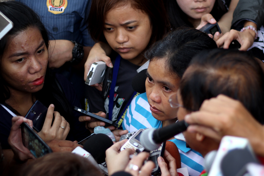 'We were treated like dogs', freed Filipina hostage recounts ordeal in the hands of Abu Sayyaf