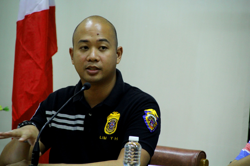 Yuri Lim of the Land Transportation Office (LTO) law enforcement section, advises the public not to patronize unregistered vehicles, locally know as 'colorum' vehicles, for their safety. (Ace R. Morandante/davaotoday.com)