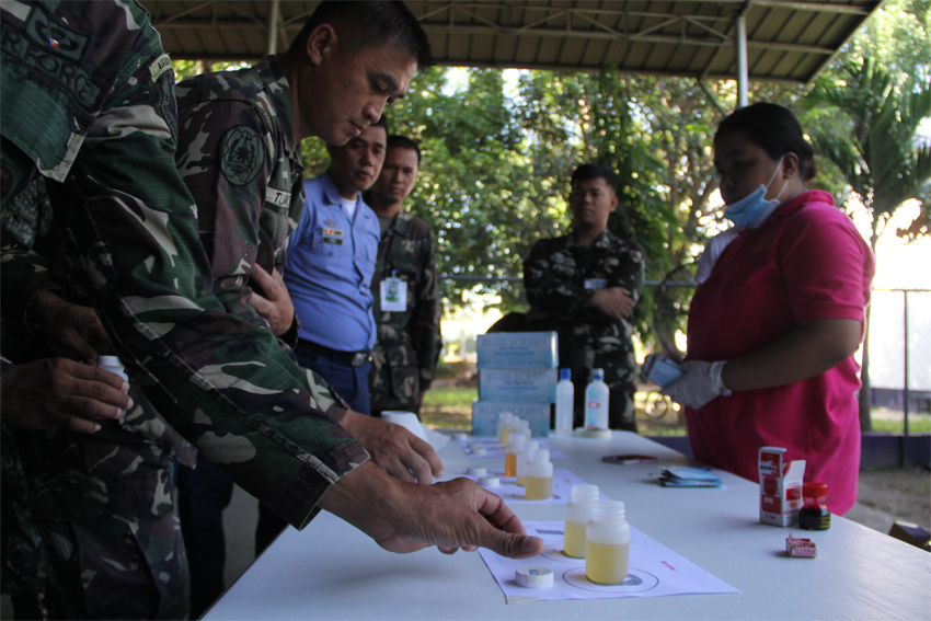 Mindanao Army camp hosts  drug rehab facility