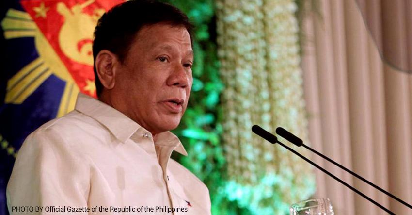 Duterte signs EO on FOI before SONA