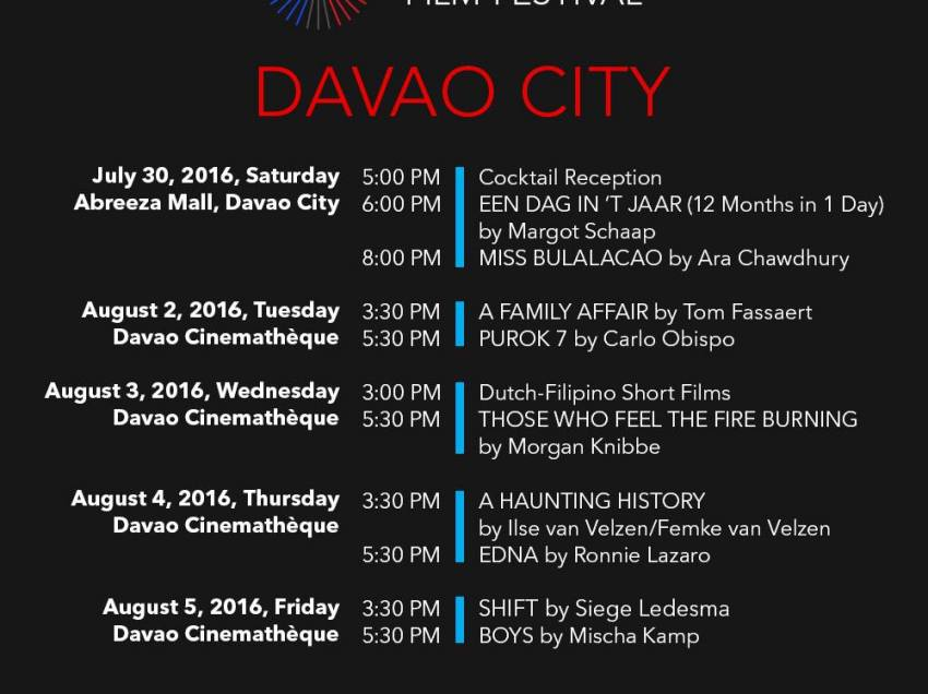 Dutch Ambassador Marion Derckx to grace Dutch-Filipino film fest in Davao