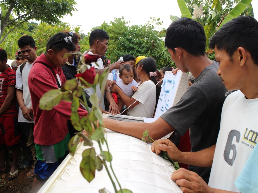 Slain Lumad leader buried in home village