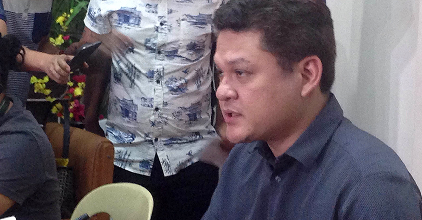 VICE MAYOR Paolo Duterte announces on Friday, July 1 that his sister Mayor Sara Duterte-Carpio will take a leave until July 22. (Zea Io Ming C. Capistrano/davaotoday.com)