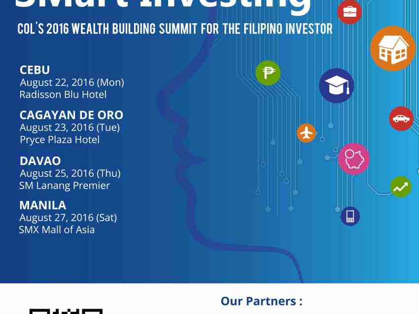 Investors summit in Davao set on Aug. 25