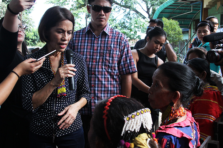 """Lumad groups salute Gina Lopez, a """"rare ally"""" in protecting ancestral lands"""