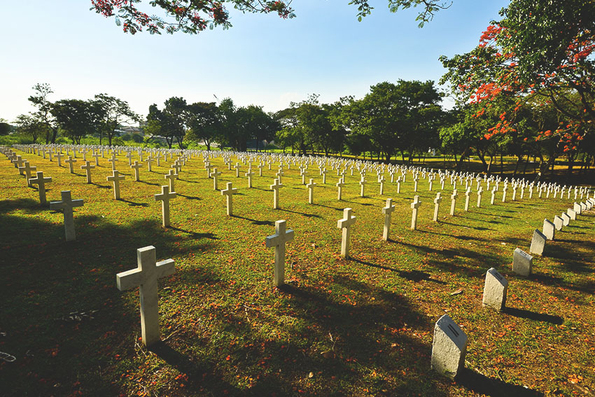 The matter of Marcos' burial at the Libingan ng mga Bayani