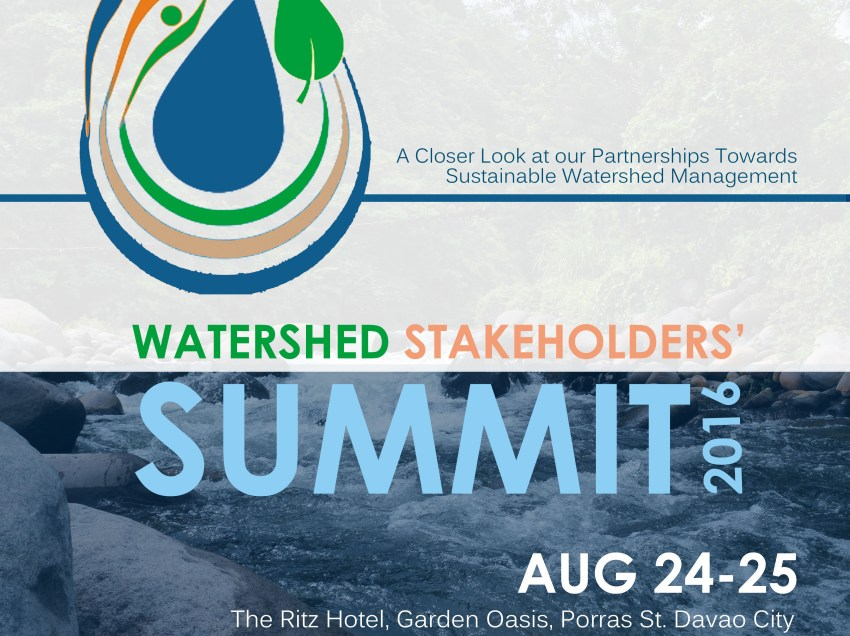 2016 Watershed summit to focus on sustainable watershed management