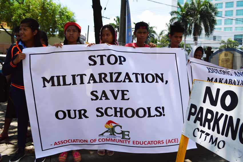 PHOTOS | Community teachers rally on National Teachers' Month