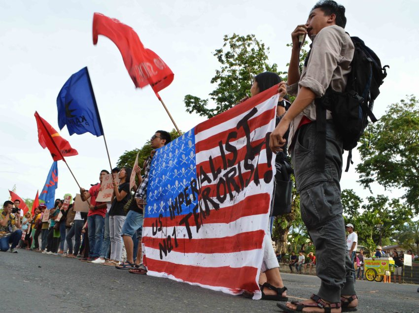 PHOTOS | Davao activists rally Vs US war on terror