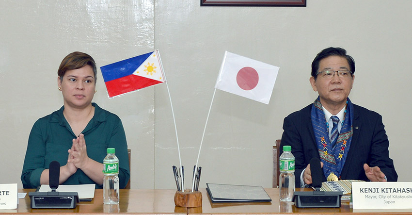 Davao City, Japan ink env't partnership agreement
