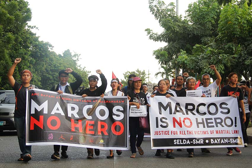 IN PHOTOS | Dabawenyos join nationwide #BlackFriday Protest