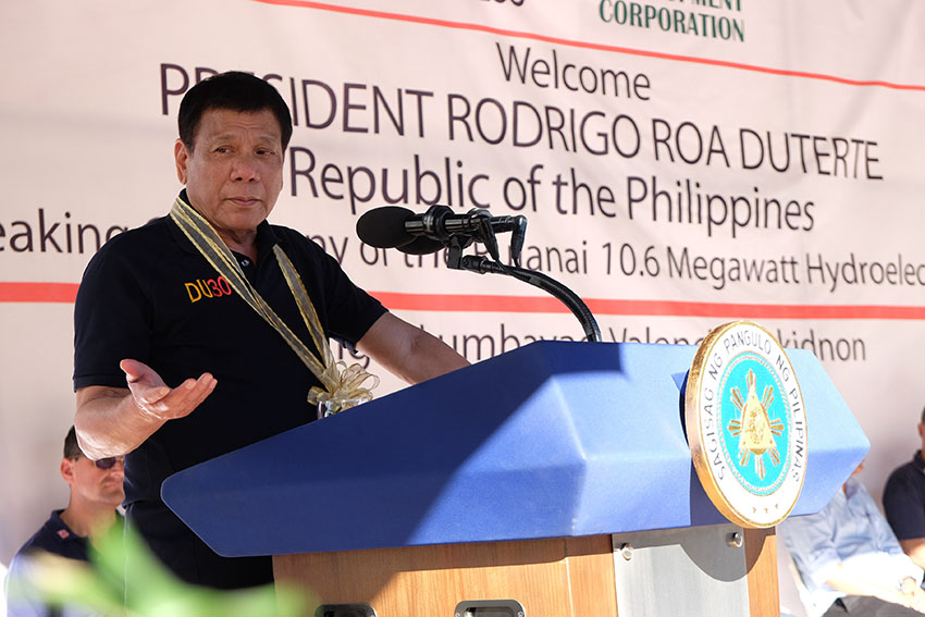Duterte to Reds: agree to an indefinite ceasefire