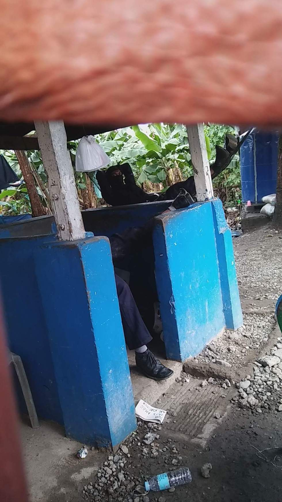 Security guards inside now occupy the 145-hectare land (photo by Radyo ni Juan Tagum)