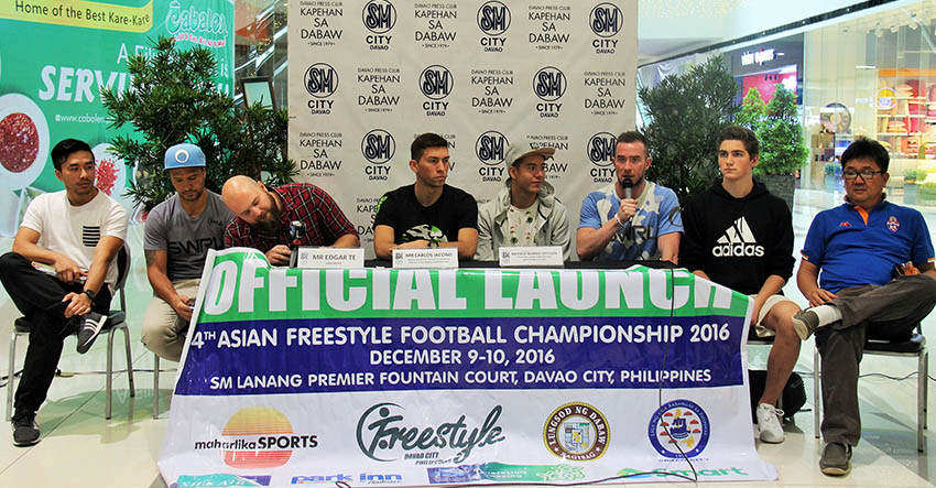 Davao to host 4th Asian Freestyle Football Championship