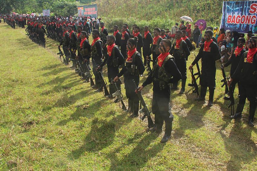 Army welcomes Mayor Sara Duterte's talks with NPA