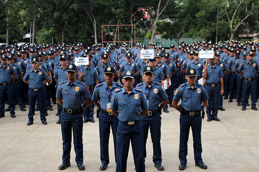 Davao cops to undergo vetting before resuming 'active role' on war on drugs