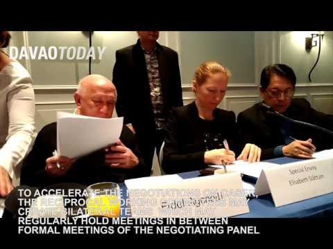 WATCH: GRP, NDFP sign ground rules on CASER meetings
