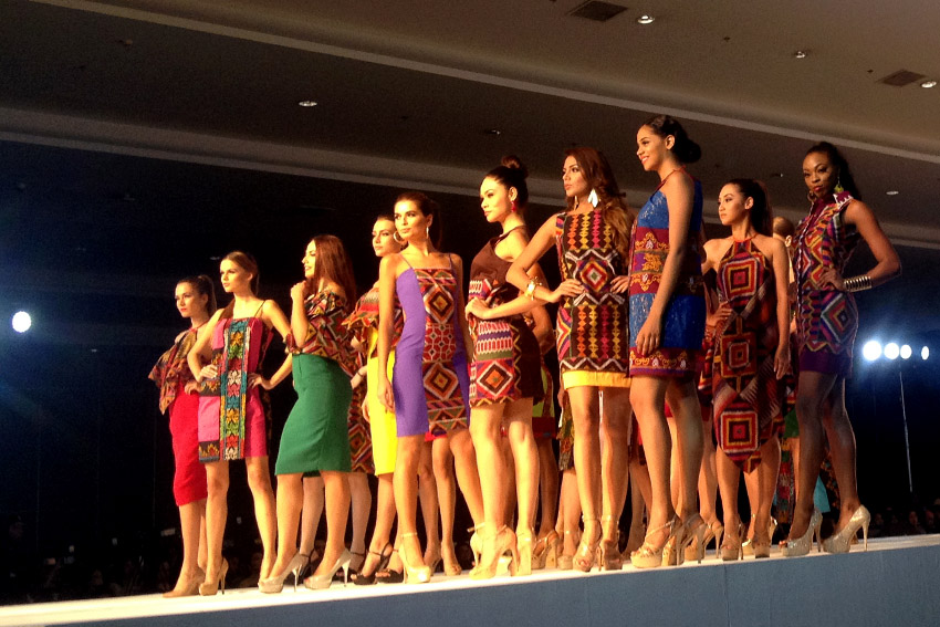 Miss U in Davao: Mindanao-weaved fabrics take center stage