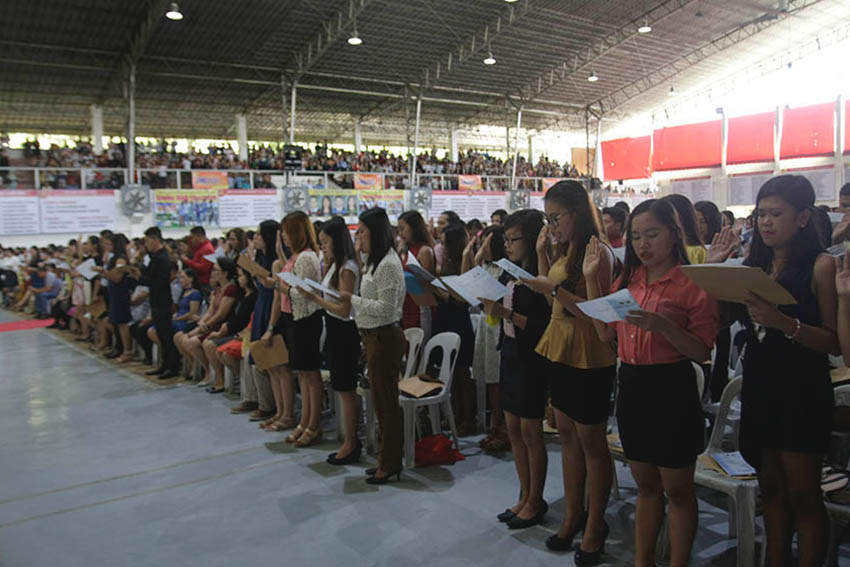 TEACHERS' OATH TAKING