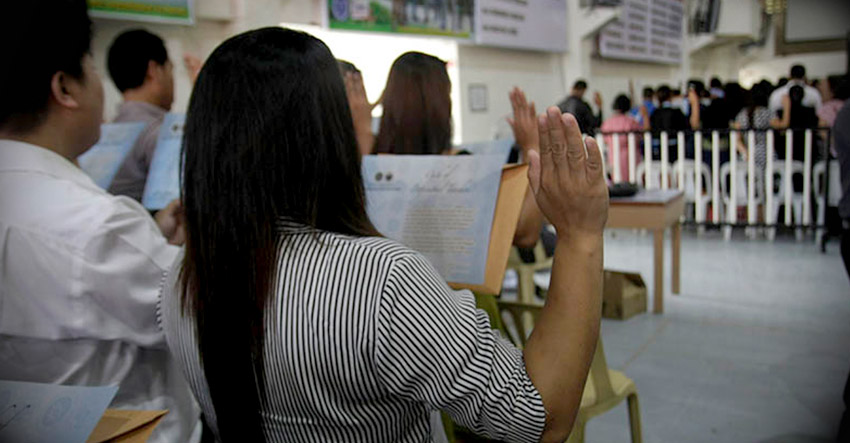 3,800 newly licensed teachers take oath in Davao