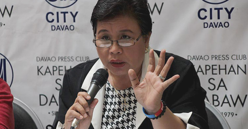 Davao City councilor Mary Joselle Villafuerte, chair of the Committee on Health (Paulo C. Rizal/davaotoday.com file photo)