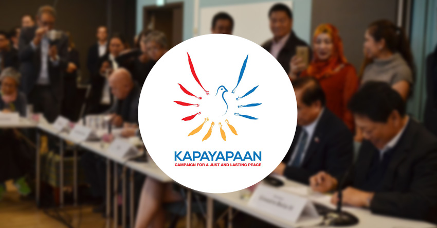 Call for just, lasting peace mounts ahead of GRP-NDFP 3rd round of talks