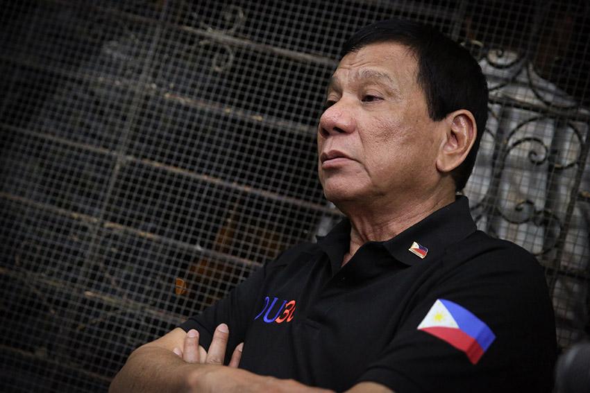 Duterte calls CPP-NPA-NDF terrorist