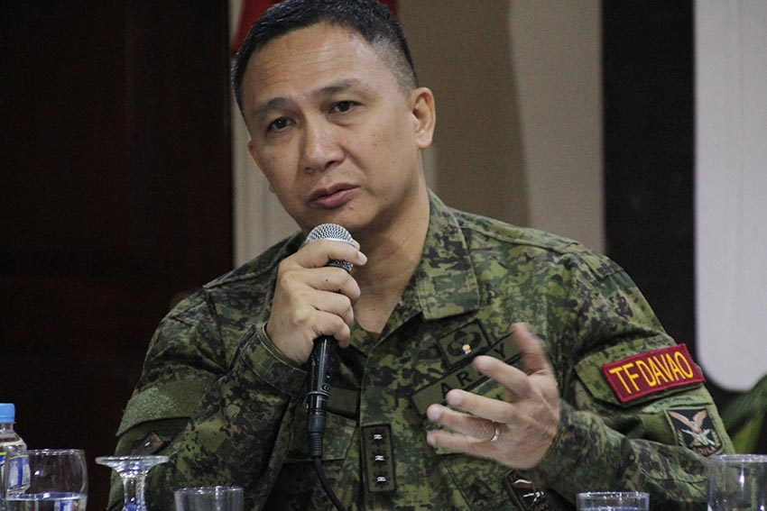 AFP to add another battalion to guard Davao's perimeters