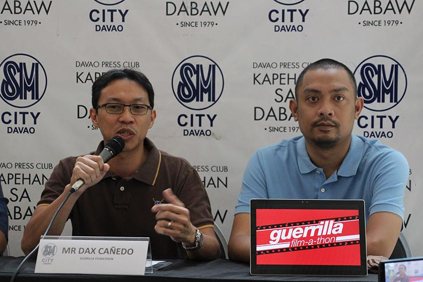 'Guerrilla Filmathon' all set for 80th Araw ng Dabaw celeb