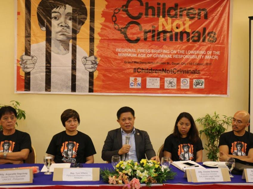 Groups oppose lowering minimum age of juvenile criminal liability
