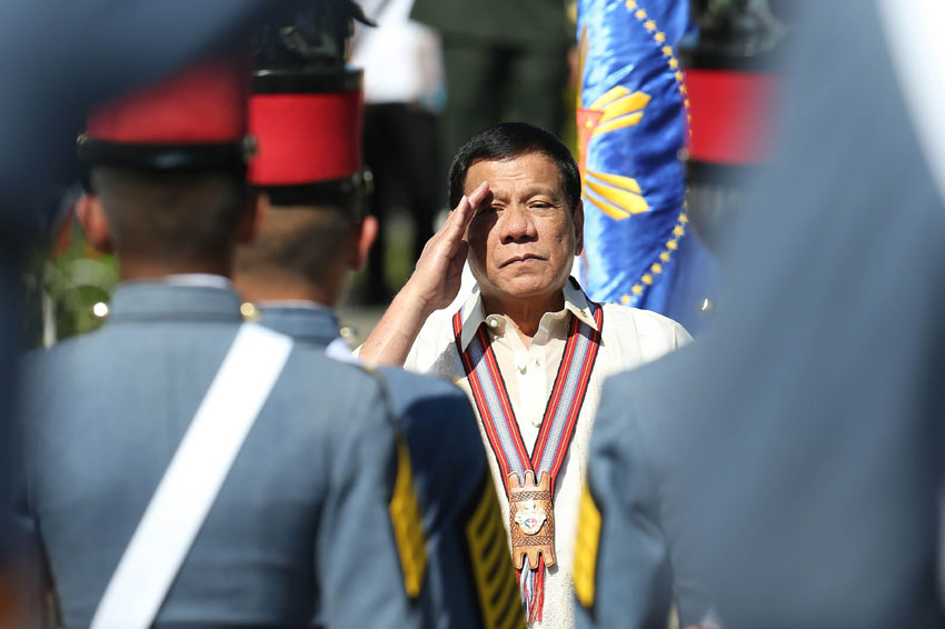 Duterte floats Martial Law nationwide