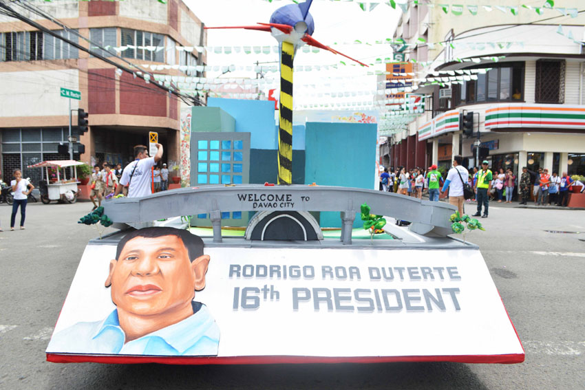 IN PHOTOS| 80th Araw ng Davao civic parade