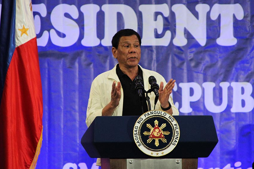Duterte to bring home pardoned OFWs in Middle East visit