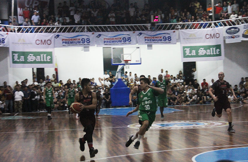 IN PHOTOS| UP Fighting Maroons vs De La Salle Green Archers in Davao City
