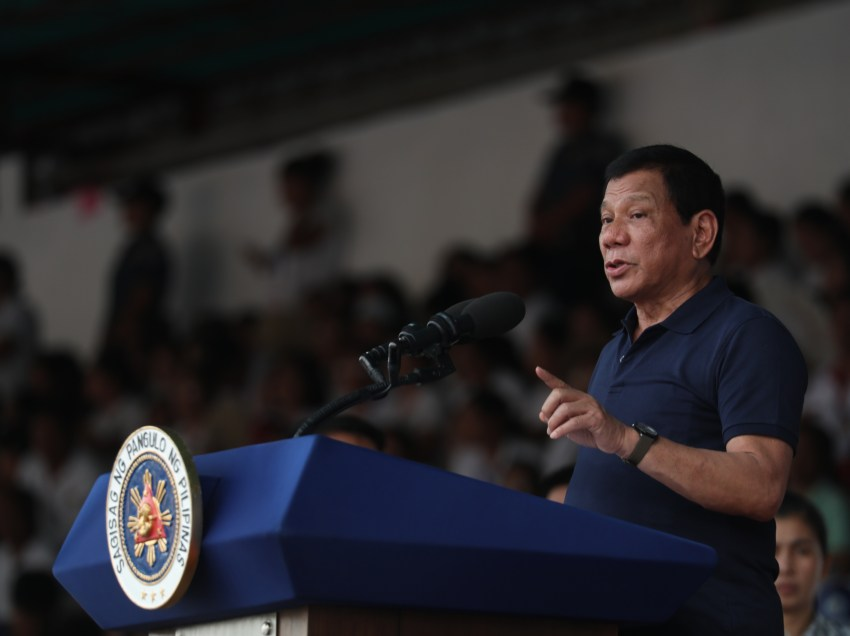 Duterte tells students: You have to go back to ROTC