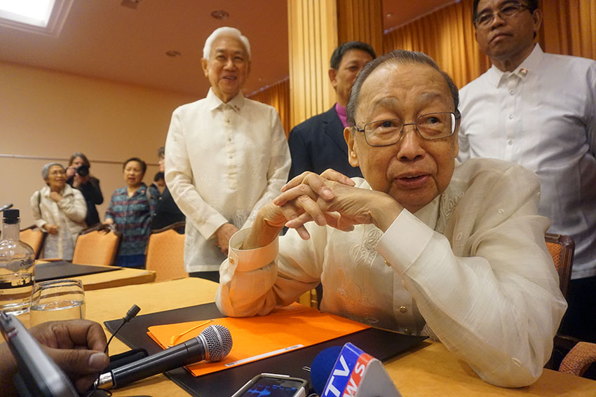 For talks to revive, both House chambers should cooperate, Joma says