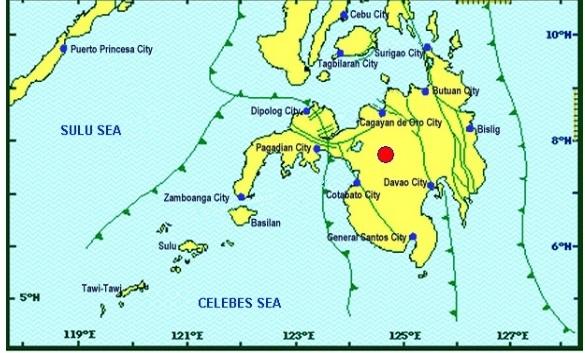 Magnitude 6 quake jolts Mindanao