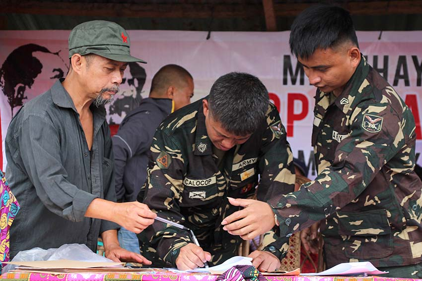 Freed army troopers to NPA: 'Thank you for the second chance to live'