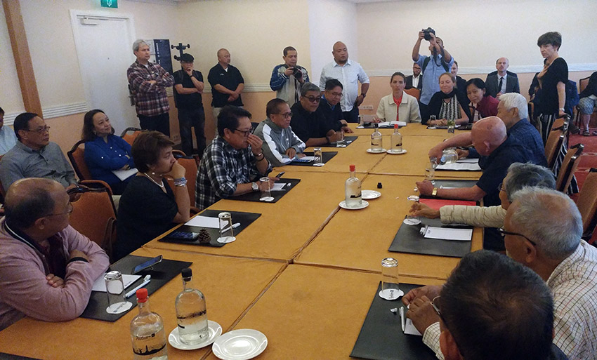 Mayor Duterte-Carpio toes 'militarist line' in seeking Davao City exclusion from ceasefire – NDFP