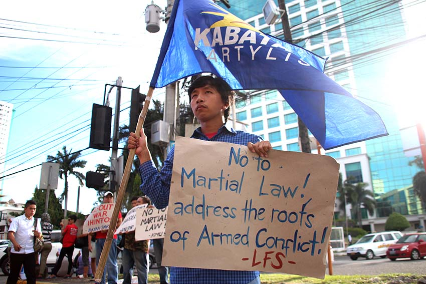 Be warned:  Davao police to arrest protesters in line with ML declaration
