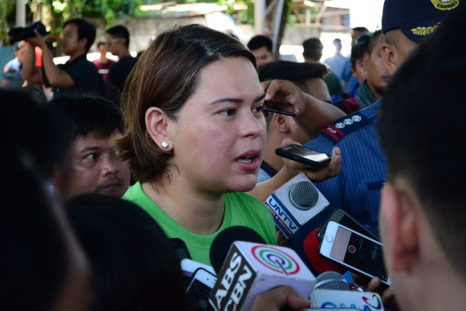 Sara Duterte sets conditions as she reiterates peace offer to NPA
