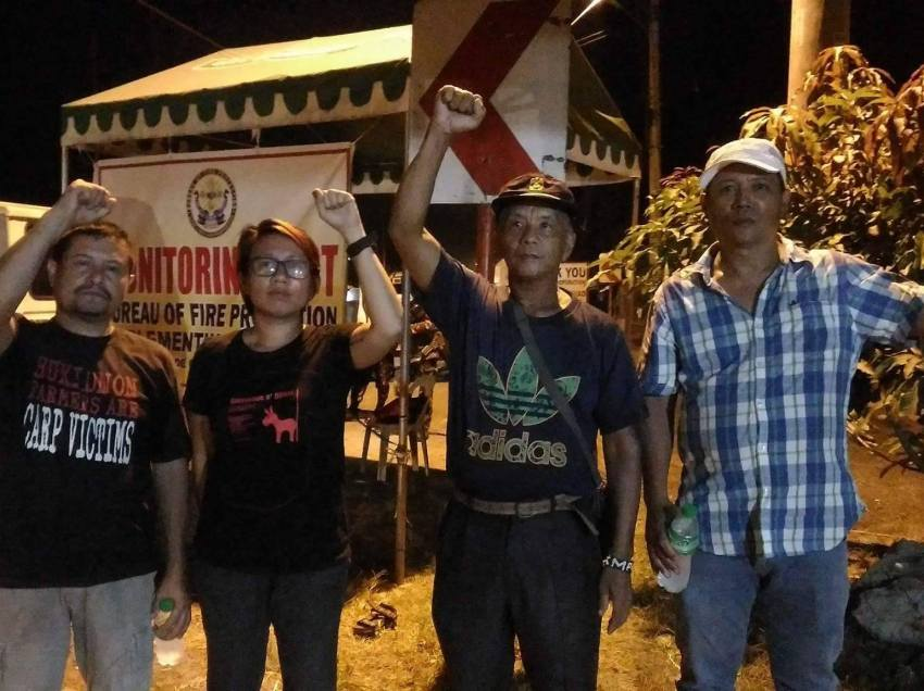 4 activists held in Davao's military checkpoint