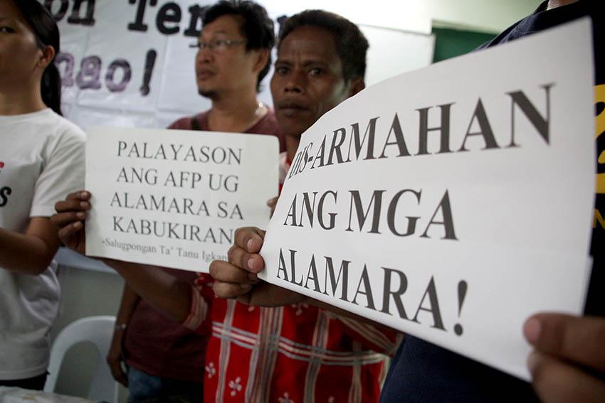 Lumad group hits 'persona non grata' tag in Talaingod