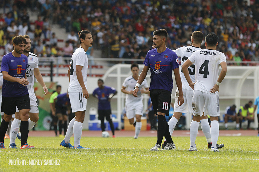 It's a draw between Davao Aguilas vs FCMM at 2-2