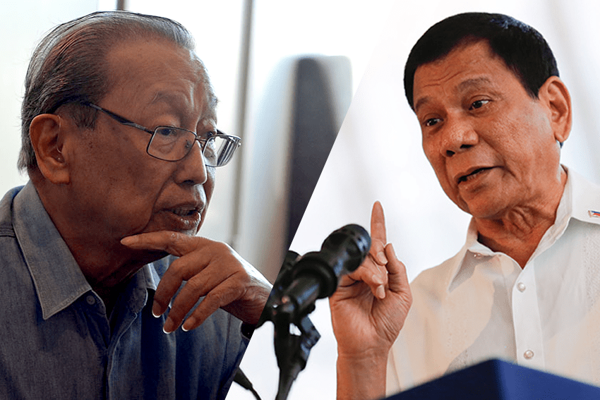 Duterte not interested in peace talks – Joma