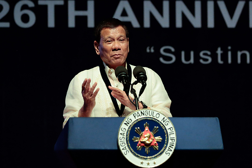 HR group raises concern on Duterte's latest avowals in curbing crimes, drugs