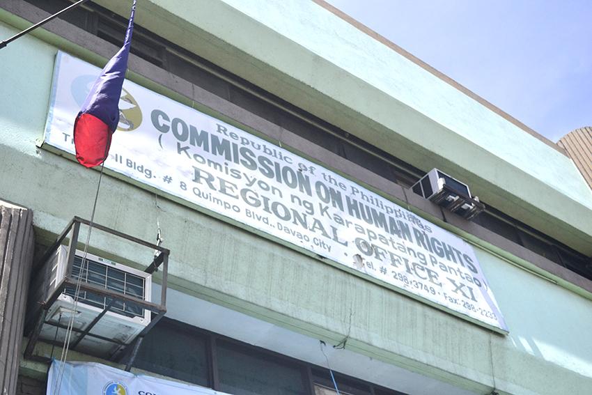 Davao's CHR laments lack of investigators