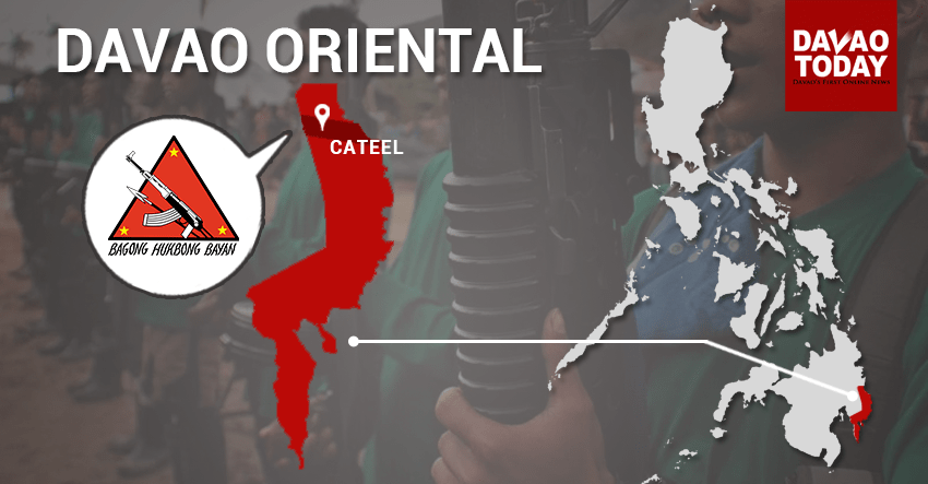 NPA captures police officer in Davao Oriental