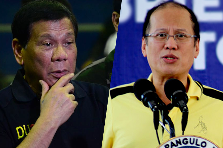 Duterte to Aquino: You are insulting me